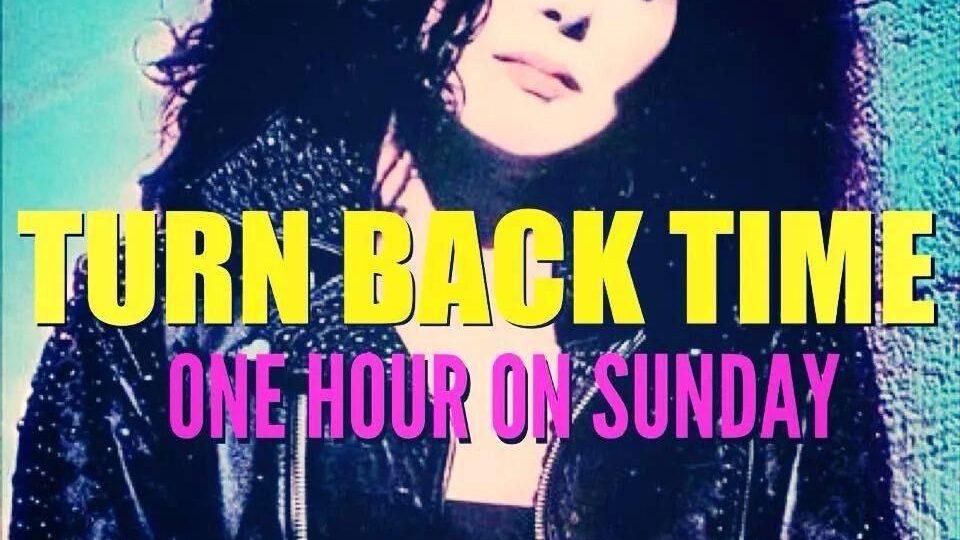 Turn Back Time – November 5th