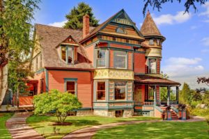 Seattle Real Estate Victorian Home