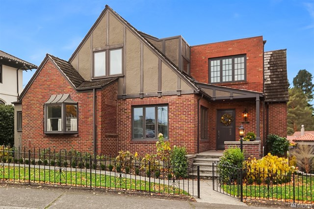 Charming Tudor in coveted Broadmoor