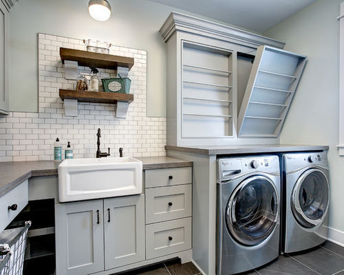 Laundry Room Remodel - De Maria Partners