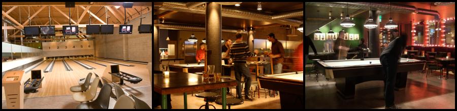 Bowling The Garage Seattle De Maria Partners